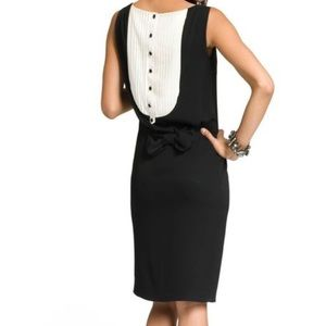 Moschino Cheap and Chic Tuxedo Dress